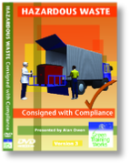 Hazardous Waste Consignment training video - for staff with waste disposal responsibilities